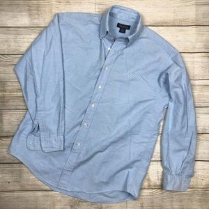 BROOKS BROTHERS supination cotton oxford shirt M